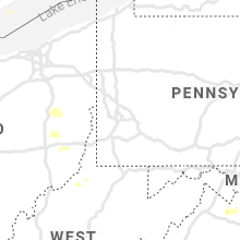 Regional Hail Map for Pittsburgh, PA - Tuesday, August 10, 2021