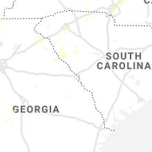 Regional Hail Map for Augusta, GA - Wednesday, August 11, 2021