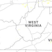 Regional Hail Map for Charleston, WV - Wednesday, August 11, 2021