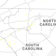 Regional Hail Map for Charlotte, NC - Wednesday, August 11, 2021