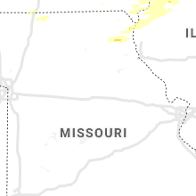 Regional Hail Map for Columbia, MO - Wednesday, August 11, 2021