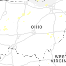 Regional Hail Map for Columbus, OH - Wednesday, August 11, 2021