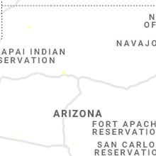 Regional Hail Map for Flagstaff, AZ - Wednesday, August 11, 2021