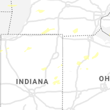 Regional Hail Map for Fort Wayne, IN - Wednesday, August 11, 2021