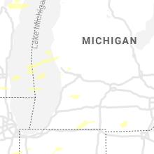 Regional Hail Map for Grand Rapids, MI - Wednesday, August 11, 2021