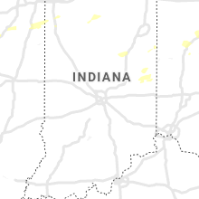 Regional Hail Map for Indianapolis, IN - Wednesday, August 11, 2021