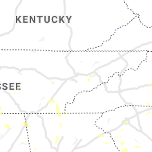 Regional Hail Map for Knoxville, TN - Wednesday, August 11, 2021