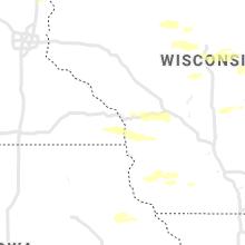 Regional Hail Map for La Crosse, WI - Wednesday, August 11, 2021