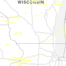 Regional Hail Map for Madison, WI - Wednesday, August 11, 2021