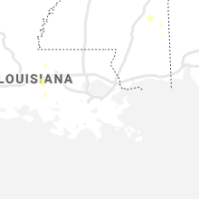 Regional Hail Map for New Orleans, LA - Wednesday, August 11, 2021