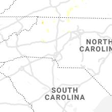 Regional Hail Map for Charlotte, NC - Thursday, August 12, 2021