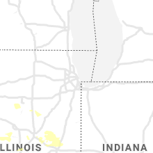 Regional Hail Map for Chicago, IL - Thursday, August 12, 2021