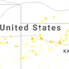 Regional Hail Map for Colby, KS - Thursday, August 12, 2021