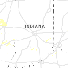 Regional Hail Map for Indianapolis, IN - Thursday, August 12, 2021