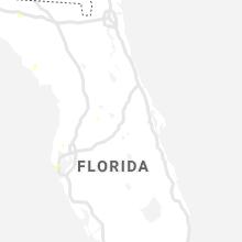 Regional Hail Map for Orlando, FL - Thursday, August 12, 2021