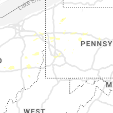 Regional Hail Map for Pittsburgh, PA - Thursday, August 12, 2021