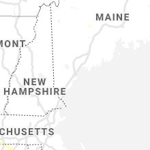 Regional Hail Map for Portland, ME - Thursday, August 12, 2021