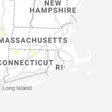 Regional Hail Map for Providence, RI - Thursday, August 12, 2021