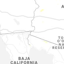 Regional Hail Map for Yuma, AZ - Thursday, August 12, 2021