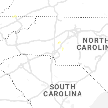 Regional Hail Map for Charlotte, NC - Friday, August 13, 2021