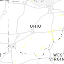 Regional Hail Map for Columbus, OH - Friday, August 13, 2021