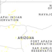 Regional Hail Map for Flagstaff, AZ - Friday, August 13, 2021