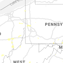 Regional Hail Map for Pittsburgh, PA - Friday, August 13, 2021