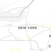 Regional Hail Map for Syracuse, NY - Friday, August 13, 2021