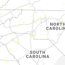 Regional Hail Map for Charlotte, NC - Saturday, August 14, 2021