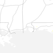 Regional Hail Map for Mobile, AL - Saturday, August 14, 2021