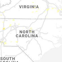 Regional Hail Map for Raleigh, NC - Saturday, August 14, 2021