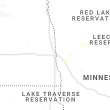 Regional Hail Map for Fargo, ND - Sunday, August 15, 2021