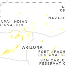 Regional Hail Map for Flagstaff, AZ - Sunday, August 15, 2021