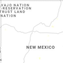 Regional Hail Map for Albuquerque, NM - Monday, August 16, 2021