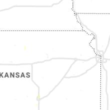 Regional Hail Map for Manhattan, KS - Monday, August 16, 2021