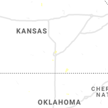 Regional Hail Map for Wichita, KS - Monday, August 16, 2021