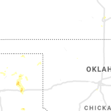 Regional Hail Map for Woodward, OK - Monday, August 16, 2021