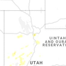 Regional Hail Map for Salt Lake City, UT - Tuesday, August 17, 2021
