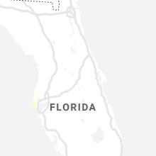Regional Hail Map for Orlando, FL - Wednesday, August 18, 2021