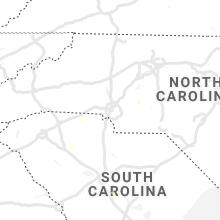 Regional Hail Map for Charlotte, NC - Thursday, August 19, 2021