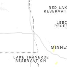 Regional Hail Map for Fargo, ND - Friday, August 20, 2021