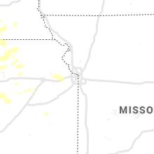 Regional Hail Map for Kansas City, MO - Friday, August 20, 2021