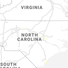 Regional Hail Map for Raleigh, NC - Friday, August 20, 2021
