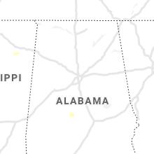 Regional Hail Map for Birmingham, AL - Saturday, August 21, 2021