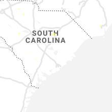 Regional Hail Map for Charleston, SC - Saturday, August 21, 2021