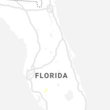 Regional Hail Map for Orlando, FL - Saturday, August 21, 2021