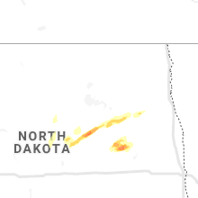 Regional Hail Map for Devils Lake, ND - Sunday, August 22, 2021