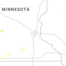 Regional Hail Map for Minneapolis, MN - Sunday, August 22, 2021