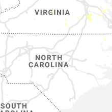 Regional Hail Map for Raleigh, NC - Sunday, August 22, 2021