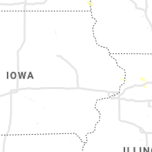 Regional Hail Map for Cedar Rapids, IA - Monday, August 23, 2021